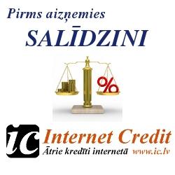 Internet Credit ātrais kredīts internetā